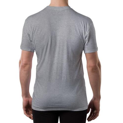 Men 39 s sweat proof hydro shield original fit v neck men for Men s antiperspirant that doesn t stain shirts