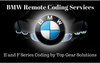 BMW Remote Coding Services  for E & F Series (Alpina PPK & More!)
