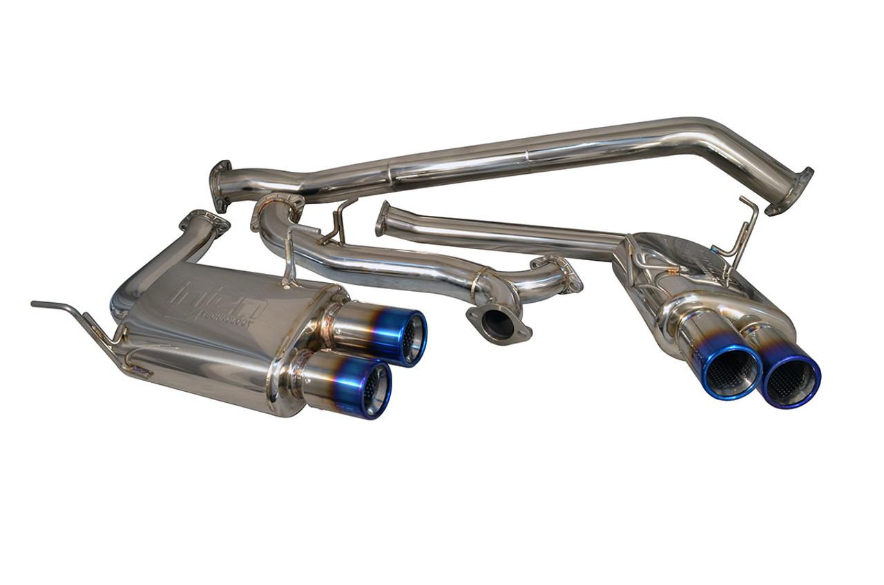Inejn Cat Back Exhaust SES1206TT, 2015 Subaru WRX STI