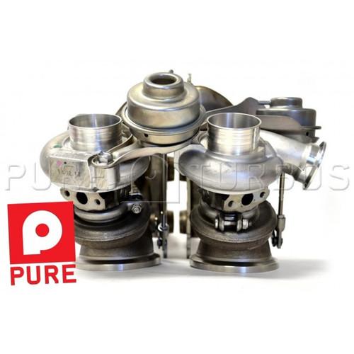 Bmw X6m Turbo Upgrade: Pure Turbos BMW N54 Stage 2 DD 450-600WHP