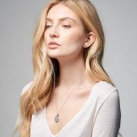 Jet Set Personalized Charm Necklace
