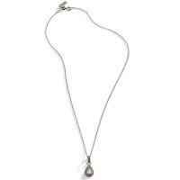 Teardrop Rose Cut Diamond Necklace