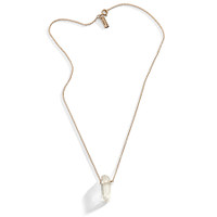 Eastwick Raw Crystal Layering Necklace