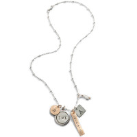 Dinah Personalized Charm Necklace