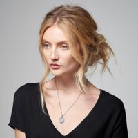 Petticoat Diamond Rimmed Personalized Name Charm  - A La Carte Charm