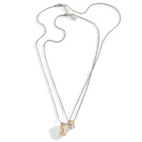 Uptown Lexington Modern Initial Bar Necklace