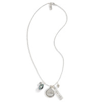 Tahitian Treasure Vintage Diamond And Pearl Necklace