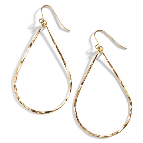 Minah Wire Teardrop Earrings