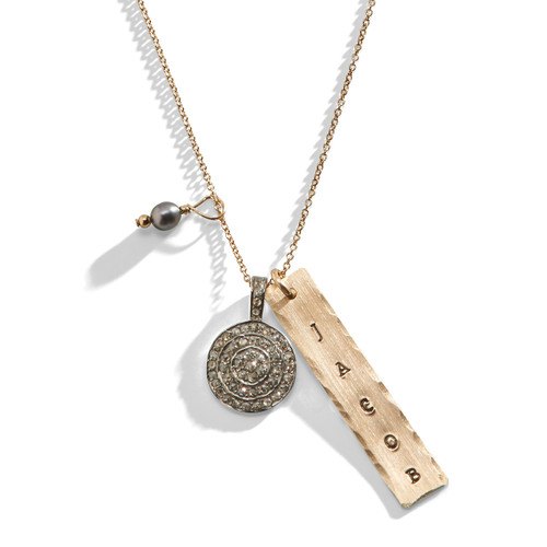 Clara's Diamonds Classic Charm Necklace