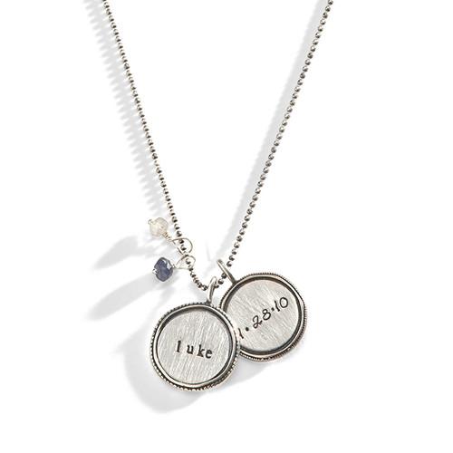Kat Vintage Name Necklace