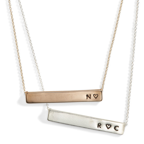 Lovenote Nameplate Necklace