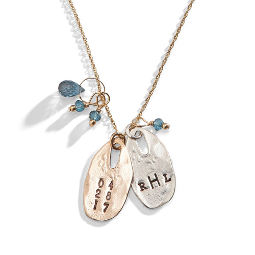 Rapture Personalized Charm Necklace