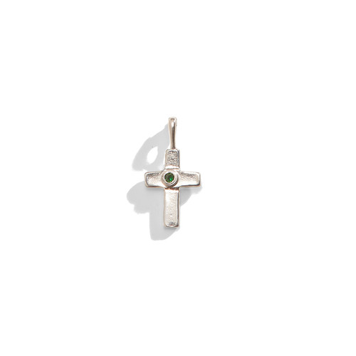 Birthstone Cross Charm - A La Carte Charm