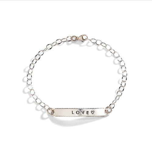 Delicate Personalized ID Bracelet
