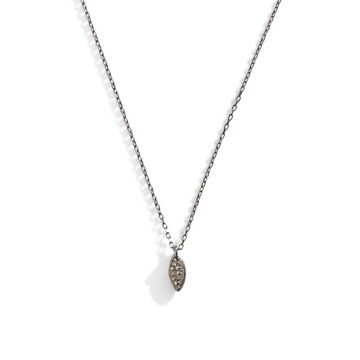 Diamond Marquis Droplet Necklace