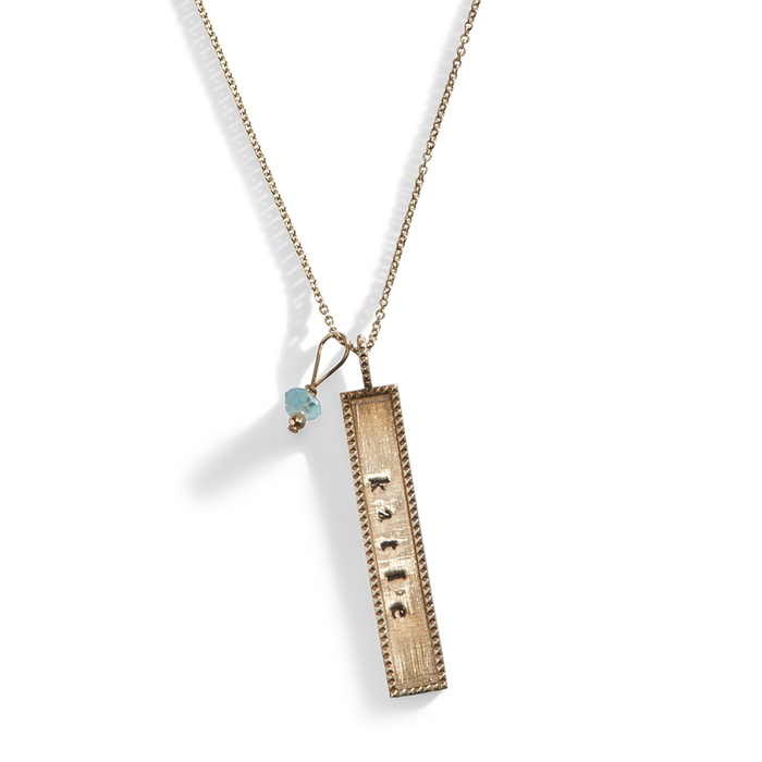 Roswell Personalized Tag Necklace
