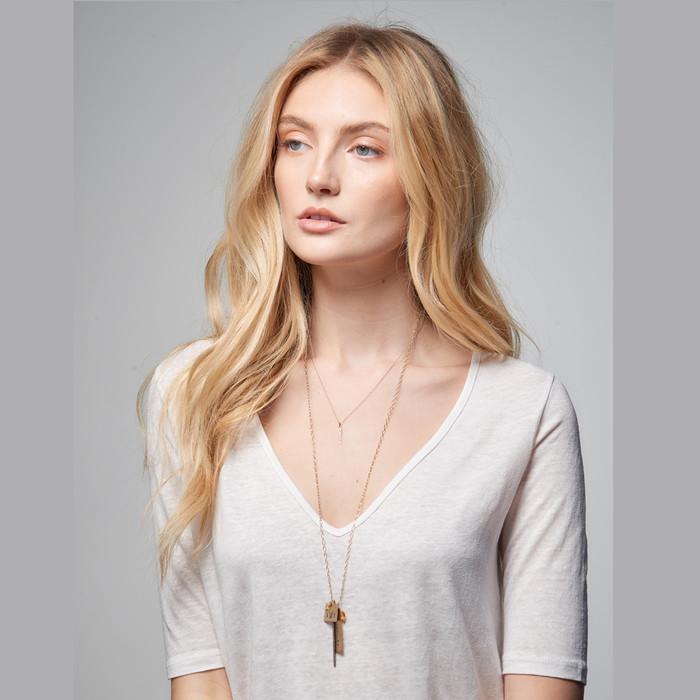 Celebrity Mom Jewelry - Hand Stamped, Personalized Jewelry