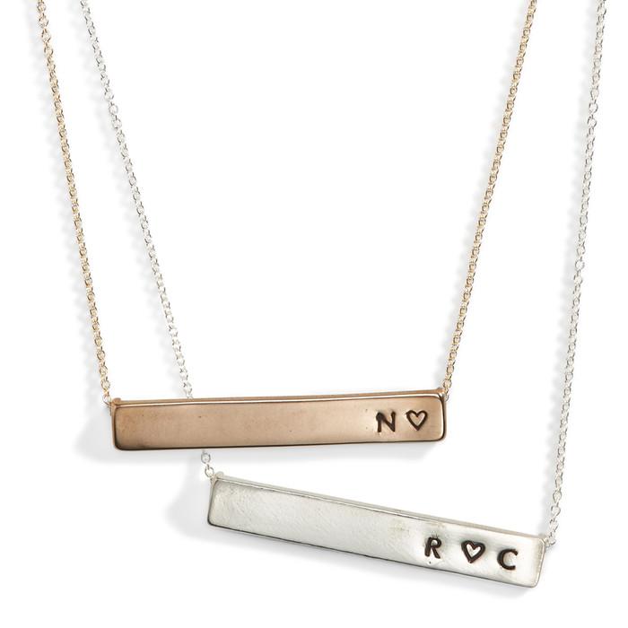 Lovenote Nameplate Necklace
