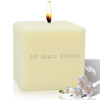 """4"""" Soy Pillar Candle - Personalized Address"""