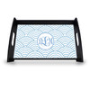 Personalized Serving Tray - Wild Blue Lupin Vine Monogram