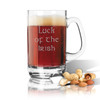 PERSONALIZED CLASSIC SPORTS MUG (Unbreakable ): Luck of the Irish