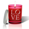 Ruby Soy Glass Candle - Love