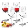 Tritan Wine Stems 12 oz (Set of 4) : Gardener  with Name