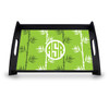 Personalized Serving Tray -  Green Tea Circle Monogram