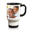 Personalized White Stainless Steel Travel Mug - 14 oz.Photo