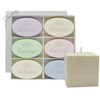 """Holiday Gift Set: Signature Spa Inspire Soaps, 4"""" Pure Aromatherapy Palm Wax Candle"""