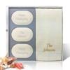 Eco-Luxury Gift Set - Happy Thanksgiving Personally! (3 Bars, 1 Towel)