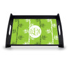 Personalized Serving Tray - Green Tea Vine Monogram