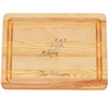 """Small Master Cutting Board 10"""" X 7.5"""" - Personalized Eat, Drink, Be Merry"""