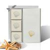 Eco-Luxury Courtesy Gift Set - Gold Scallop