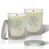 Soy Glass Candle - Heart Clover (Set of 2)