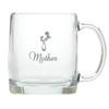 LARGE MUG (GLASS): MOTHER DAUGHTER EMBRACE