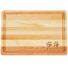 """Medium Master Cutting Boards 14.5"""" X 10"""" - Personalized Paws"""