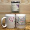 Pure Energy  Apothecary Lavender  Candle and Grandma Mug Set