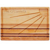 "Integrity Sunburst Carving Board 20"" X 13"" - Celtic Name"