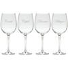 SANTA'S REINDEER 5-8 STEMWARE - SET OF 4 (GLASS)