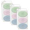 Signature Spa Trio - Green Tea, Satsuma & Blue Lupin: Snowflakes (Set of 3)
