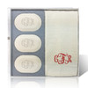 Eco-Luxury Gift Set - Monogram (3 Bars 1 Towel)