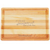 "Medium Master Cutting Boards 14.5"" X 10"" - Personalized Wonderful Time of Year"