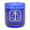 PERSONALIZED ANCHOR ROPE BLUE COLLECTION CANDLE