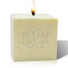 "4"" Pure Aromatherapy Palm Wax Candle - Monogram"