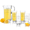 Entertaining Set: Tritan Pitcher and High Ball Glasses 16 oz (Set of 4) : Bike with name