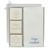 Eco-Luxury Courtesy Gift Set - Blue or Silver Hanukkah Mix