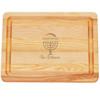 "Small Master Cutting Board 10"" X 7.5"" - Personalized Menorah"