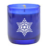 FANCY STAR OF DAVID BLUE COLLECTION CANDLE