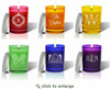 Gem Collection Soy Glass Candle - Personalized
